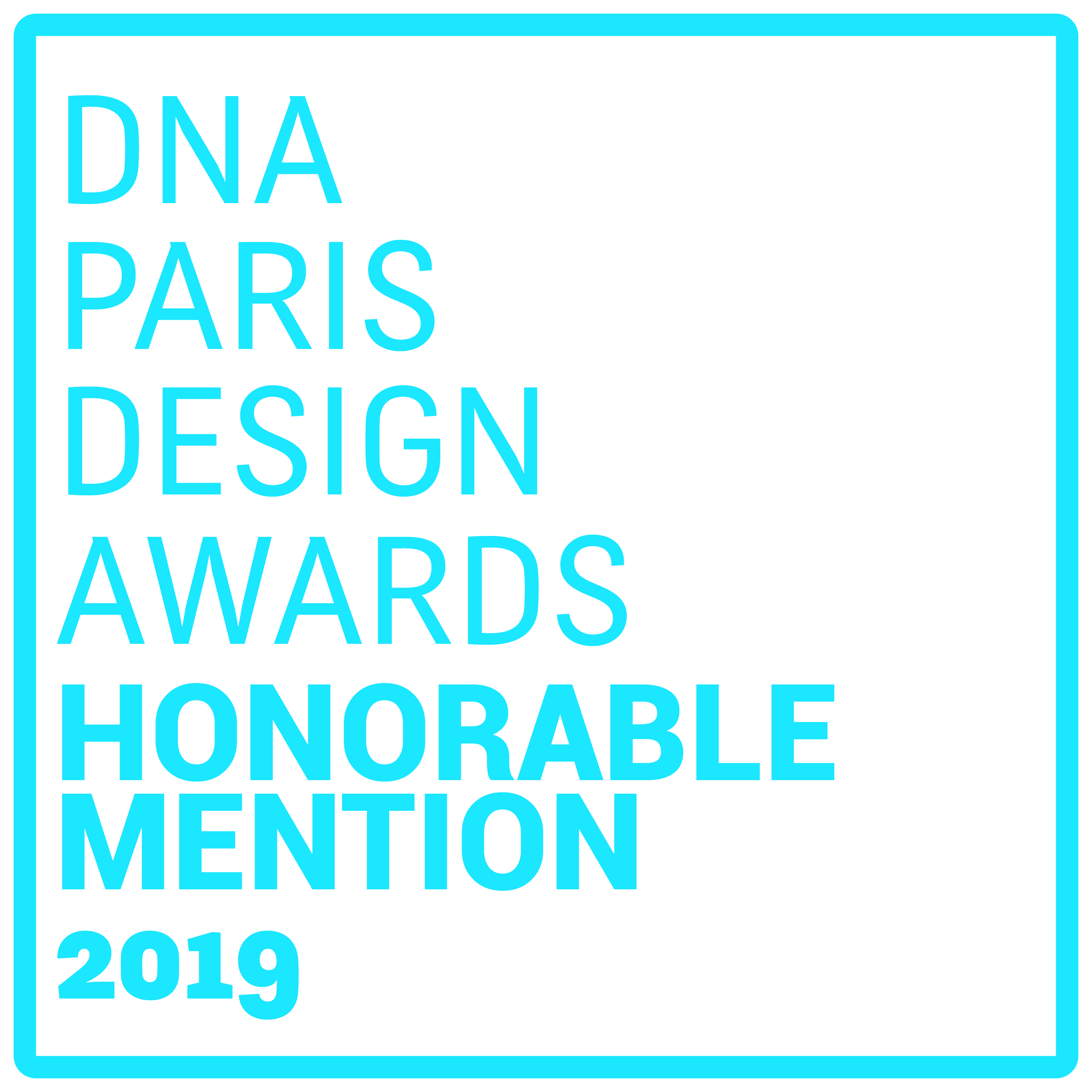 DNA – Paris Design Award 2019